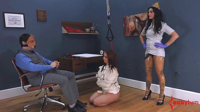 Zorra entintada aceitada antes del salón de lesvianas españolas gratis masajes spitroast