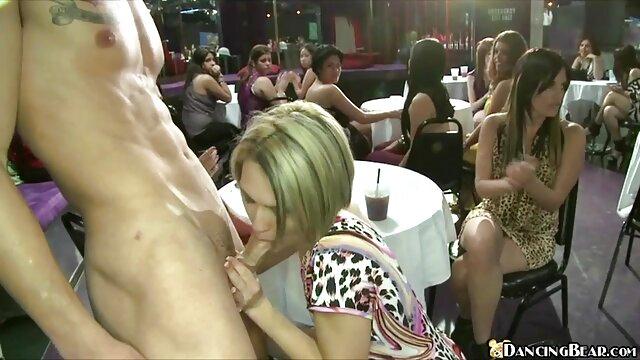 Ella quería practicar chupando mi bbc videos de lesvianas gratis en español